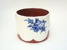 Ceramic Vessel  Ceramic Planter  Home Decor  by susansimonini,