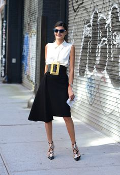 Giovanna Battaglia - Spring '14 Paris Fashion Week Street-Style Photos by Tommy Ton
