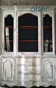 How To Get The French Coastal Look- Perfect for my odd china cabinet ...