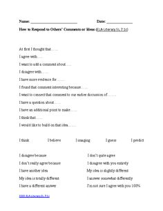 English Worksheets | 7th Grade Common Core Aligned Worksheets ...