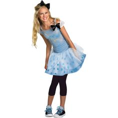 Disney Cinderella Teen Halloween Costume at #Walmart. Available In-Store.