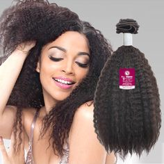 Janet Collection 100% Unprocessed Remy Human Hair Weave Brazilian Afro Jerry