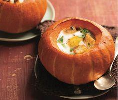"Use the WHOLE pumpkin with this #creative ""pumpkin pots"" idea #pumpkin"