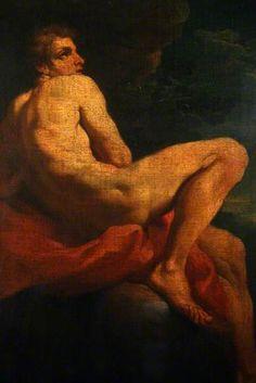 Life Study by Michelangelo Merisi da Caravaggio