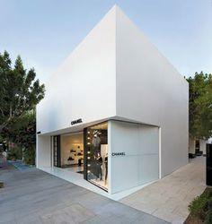 Chanel petite boutique Los Angeles. Peter Marino architect