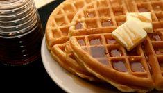 Pumpkin Spice Waffles with Walnuts - Bigelow Tea