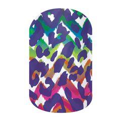 Funky Cheetah - nail