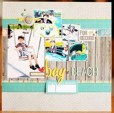Bay Beach - Scrapbook.com - Favorited this week at Scrapbook.com