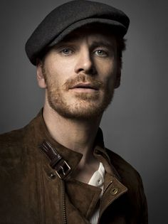 Michael Fassbender - he looks like a ragamuffin...which I like...(and the chance to use ragamuffin!)