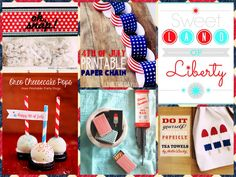 Snappy DIY ideas for the Fourth of July!!!