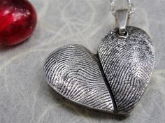 I have this for my Parents fingerprints...My favorite  piece of Jewerly