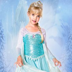 Elsa Limited Edition Costume for Girls - Frozen | Costumes & Costume Accessories | Disney Store
