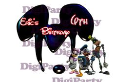 Epic Mickey Disney  Birthday Party IronOn Design by DigiParty, $5.99