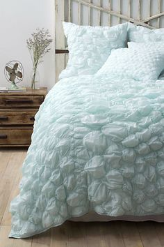 Catalina Bedding in Aqua by Anthropologie