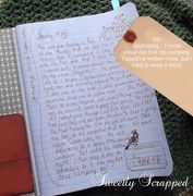 Journal Prompts... 2 pages of ideas to spark your creative writing..& Cute cards on the site!