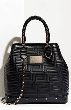 Versace 'Couture' Top Handle Shoulder Bag