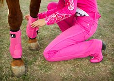 You might be a rodeo queen if: you and your horse always have matching boots!