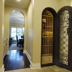 Wine cellar ideas on pinterest wine rooms under stairs Turn closet into wine cellar