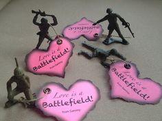 "Boy Valentines: ""Love is a Battlefield!"""