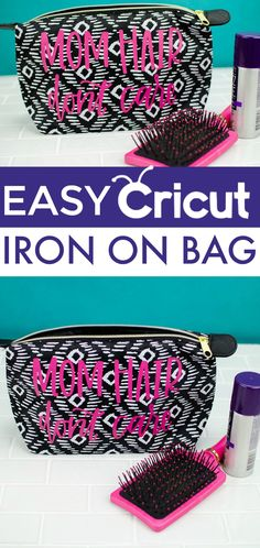 Looking  for the perfect Mother's Day gift idea? We made this great Easy Cricut Iron-On Bag that your mom will  love. It's a practical gift perfect to give on Mother's Day. #mothersday #mothersdaydiycrafts #mothersdaygifts #gifts  #giftideas #giftsformom #giftsforher #crafts #teen #teens #teencrafts  #craftsforteens #craftideasforteens #cricut #diecutting #cricutmaker #diycricut  #cricutideas #diycricutprojects #cricutprojects #cricutcraftideas  #diycricutideas