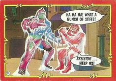 Masters of the Universe trading card #73
