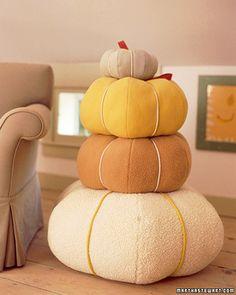 pumpking pillows