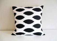 accent pillows, decorative pillows, ikat pillow, white pillow, pillow covers