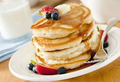 Recipe: Old Fashioned Buttermilk Pancakes