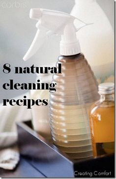 natural cleaning recipes you can make at home.