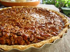 "Pecan Pie: ""Perfect, classic pecan pie. Easy to make and comes out just right and not too runny."" -little_wing"
