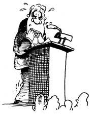 Public Speaking - Two Errors that Lead to Fear.