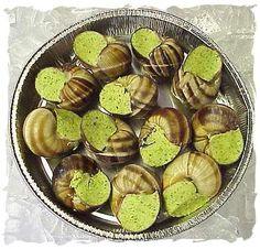 awesom food, snail