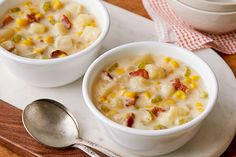 Sassy Potato Corn Chowder - My Food and Family