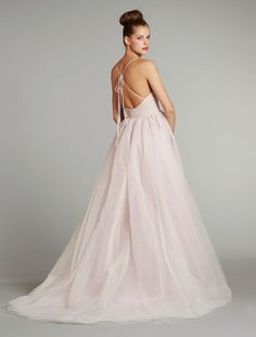 """Blush by Hayley Paige - Fall 2012 - """"Lilac"""" - www.jlmcouture.com"""