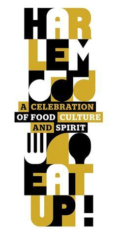 Harlem EatUp! logo design by OCD