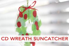 Christmas Wreath Suncatcher