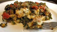Spinach and Rice Lasagna via @PBS Parents