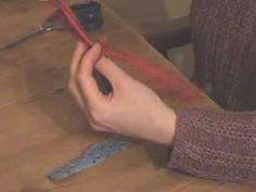 Locker hooking - making rugs