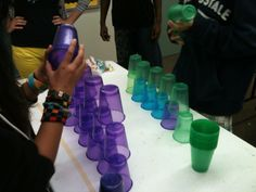 Minute to Win it: a teen library program!
