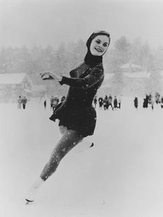 Carol Heiss won gold in 1960 in Squaw Valley.