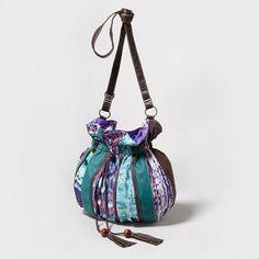 Tassels + tie-dye = the perfect Boho Pouch Shoulder Bag