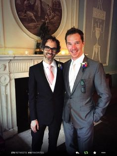 Swoon! Happy wedding day, James Rhodes! 27/9/14