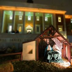 """For to us a child is born..."" Merry Christmas, #Baylor family."