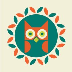 graphic, owls, hoothoot