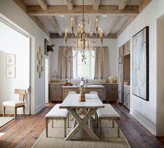 Lovely french farmhouse kitchen