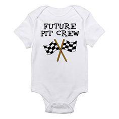 Future pit crew baby vestpantcover