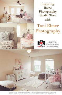 Inspiring Home Photography Studio Tour with Toni Elmer Photography via iHeartFaces.com
