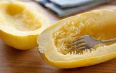 Spaghetti Squash // It's way easier to prepare than you think! #healthy #veggie #recipe