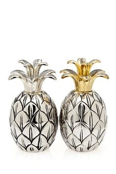 Pineapple Salt  Pepper Shakers
