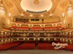Orpheum Theatre, Los Angeles CA. I can vouch for the hauntings in this place.
